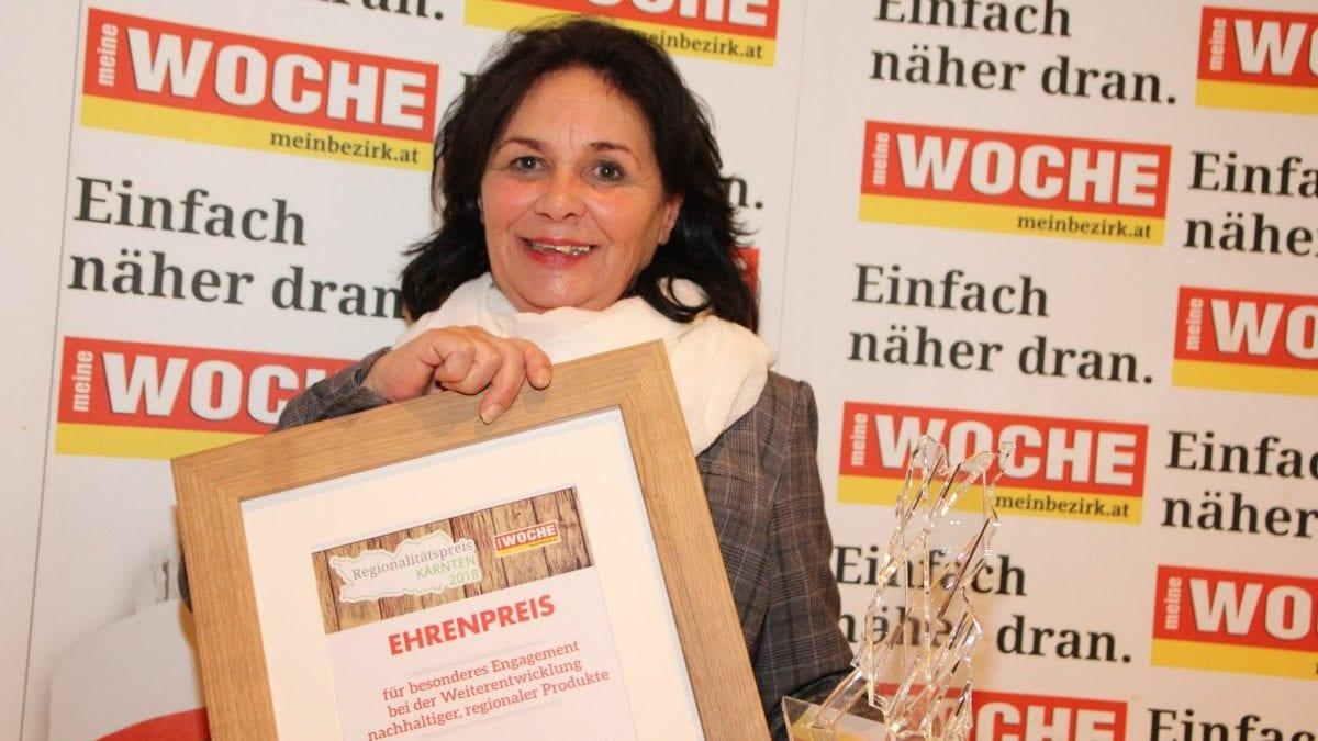 Ehrenpreis für Christine Sitter