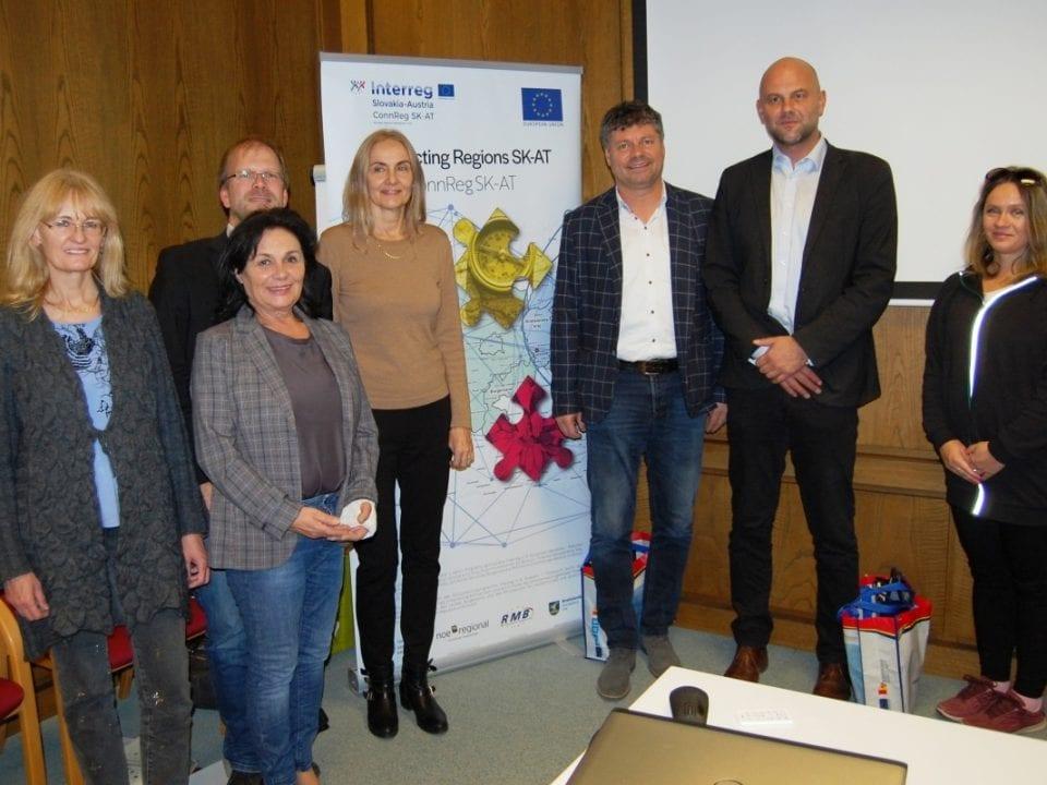 Gruppenfoto mit Besuchern aus NÖ, Bgld und Slowakei