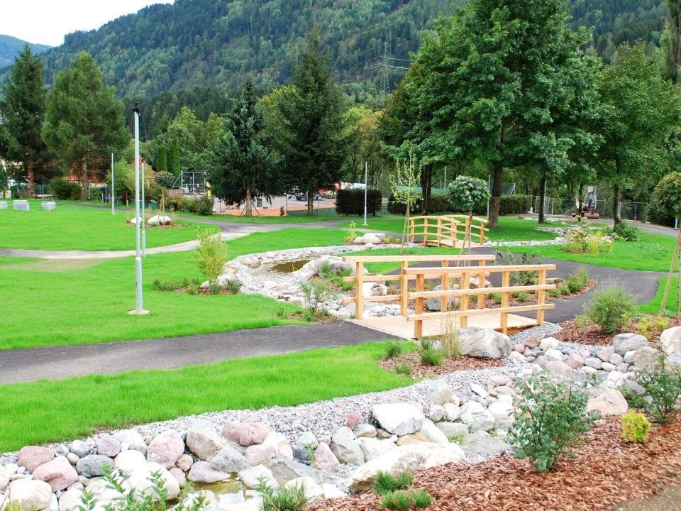 Ein Teil des neuen Ortszentrums