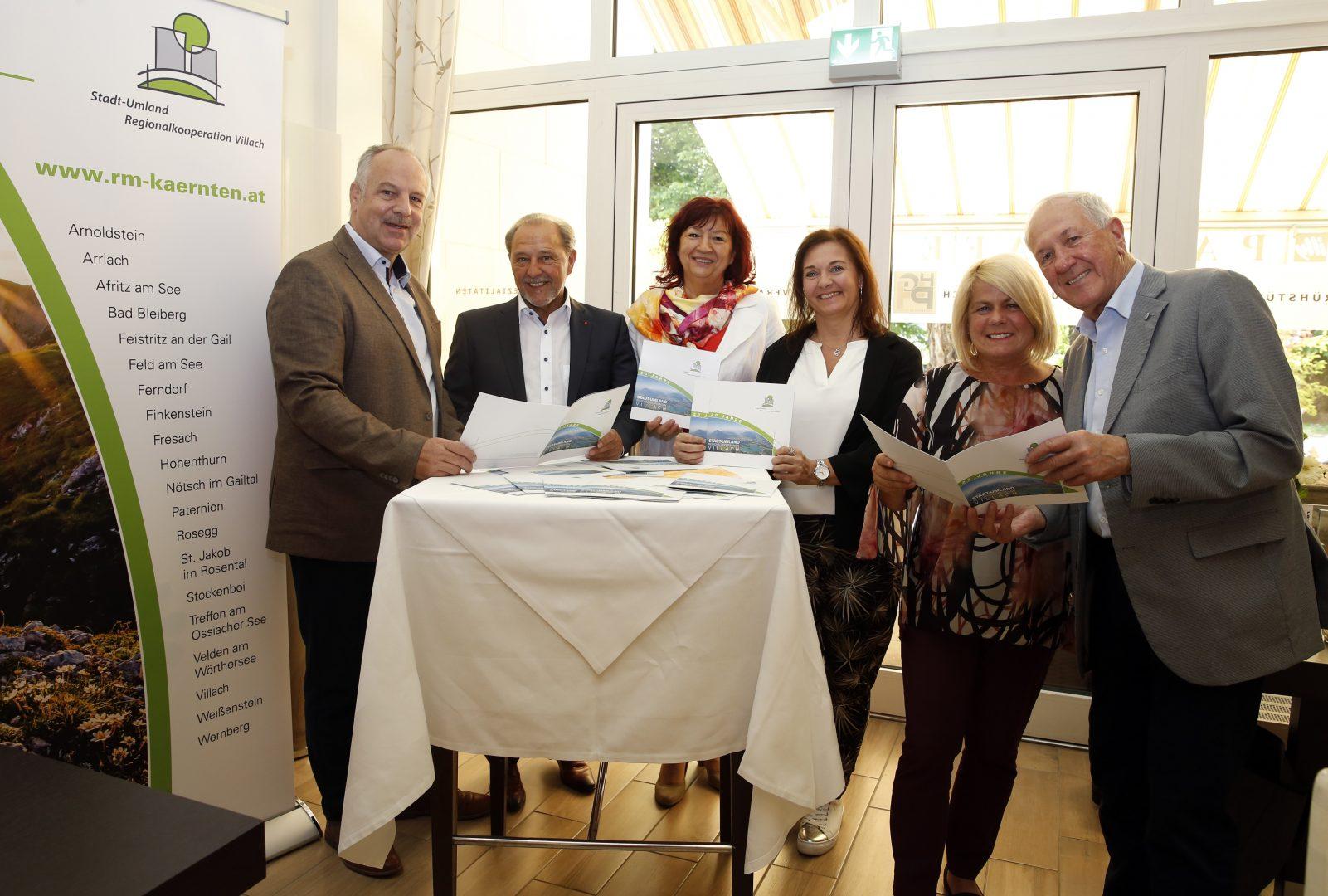 Pressekonferenz 20 Jahre Stadt-Umland Regionalkooperation