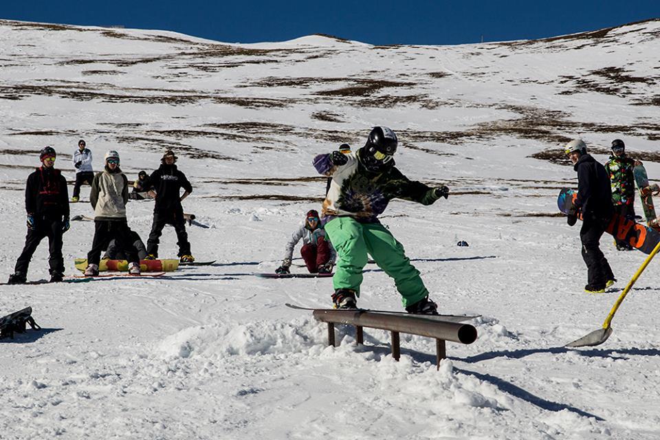 Downrail small - Verein G-TAL Nocky Mountains - Funsports