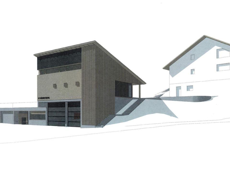 Plan Mehzweckhaus