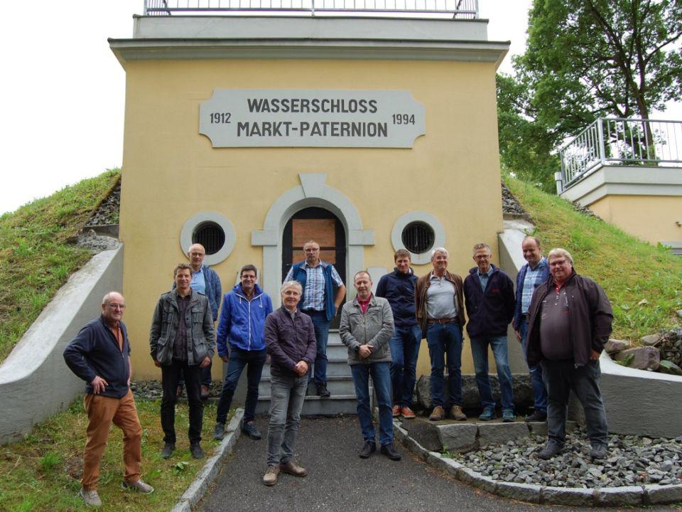 Die Teilnehmer an der interessanten Exkursion