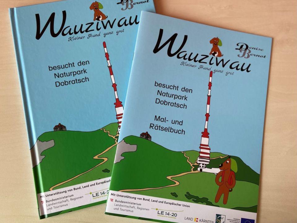 Naturpark Bilder- und Rätselbuch Wauziwau