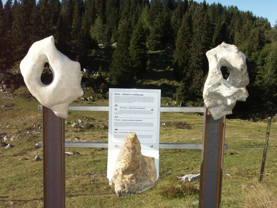 Naturpark Dobratsch - Geolehrpfad